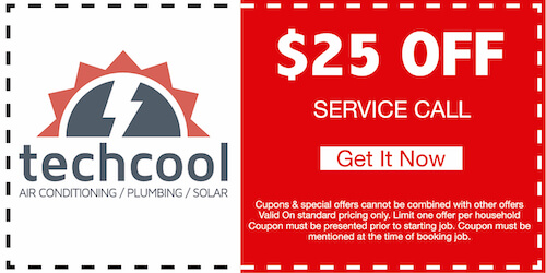 25 off service call coupon banner
