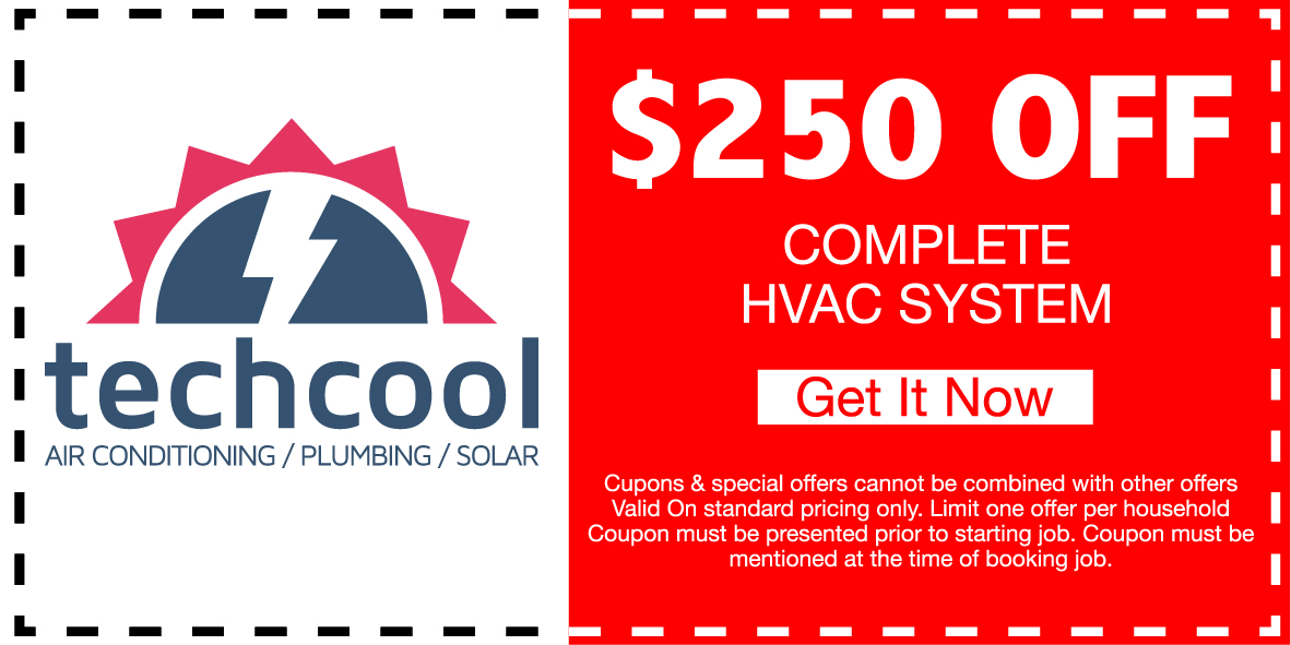 250 off complete hvac system coupon banner